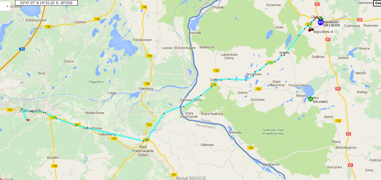 Droga do Eberswalde-APRS