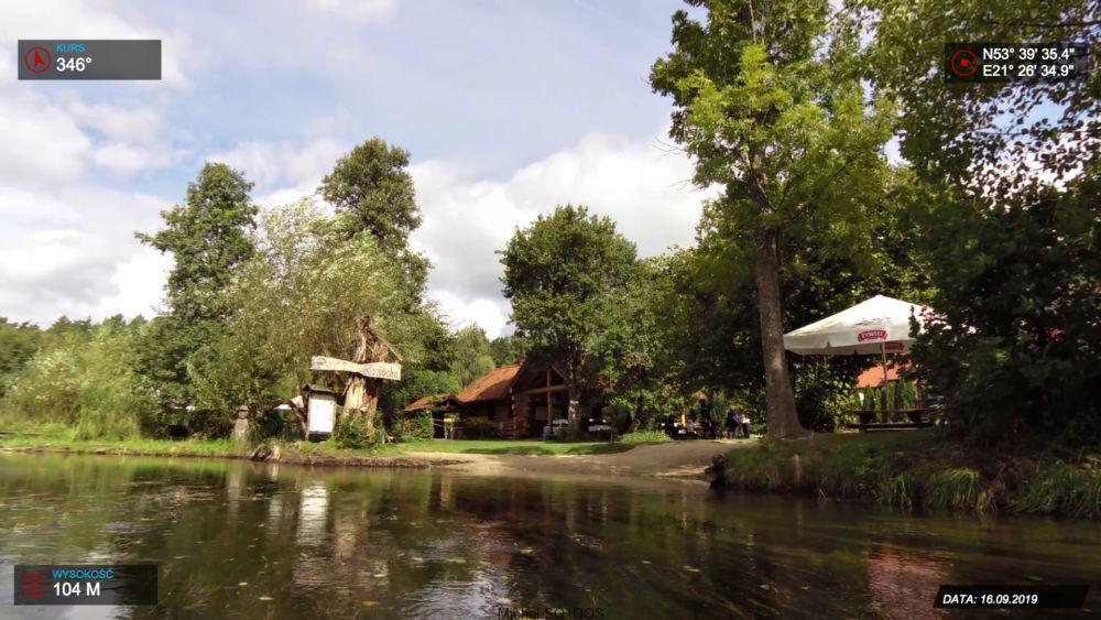 Odpoczynek nad rzeką Krutynia