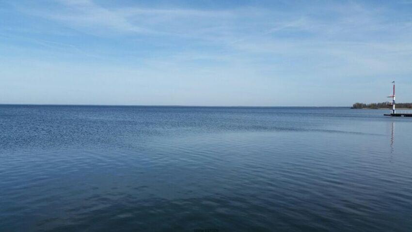 Jezioro Muritz prawie jak morze