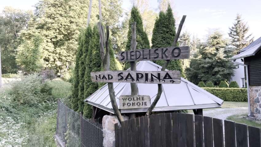 Przed Siedliskiem nad Sapiną